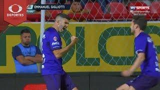 Gol de Emmanuel Gigliotti | Necaxa 0 - 1 Toluca | Clausura 2019 - J10 | Televisa Deportes