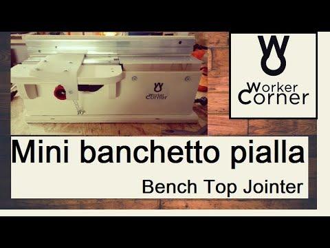 Banchetto con pialla elettrica parkside bench top for Parkside pistola sparapunti elettrica