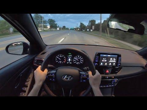 2019 Hyundai Elantra GT N Line - POV Sunrise Drive