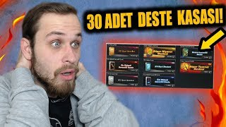 30 ADET DESTE KASASI AÇTIM ! - ZULA