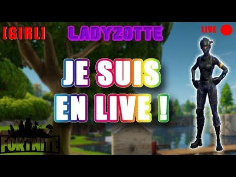 [FR/LIVE/PS4] [FORTNITE] ON M'APPELLE BAMBI !!! ROAD TO 500 SUB