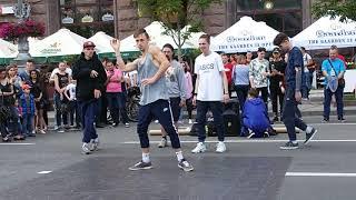 Уличные танцы. Киев. 13 Лисиц. Часть 43. Street dance. Kiev. 13 The fox. Part 43.