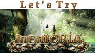 Let's Try - Memoria - Indie Point and Click Adventure - PC Gameplay