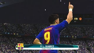 Barcelona vs Manchester United  3-2    26 July 2017 Gameplay