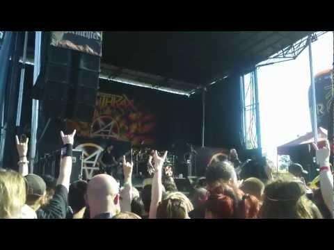 Rockstar Mayhem 7/1/12 - Anthrax - Caught in a Mosh @ Shoreline Mt View Q3HD
