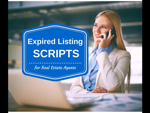 Expired Listing Scripts for REALTORS