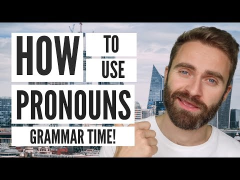 How To Use Pronouns (Me, Myself And I) | Grammar Time!