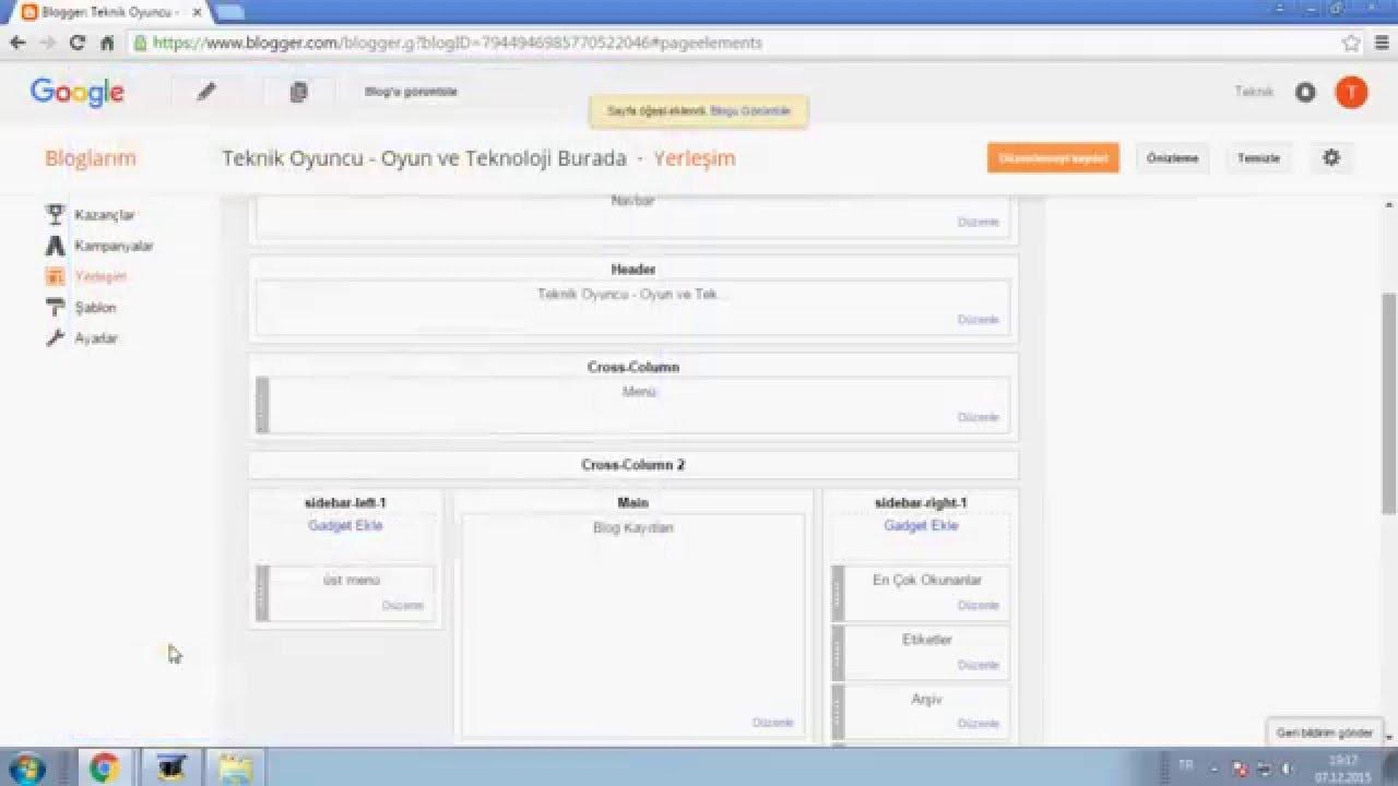 Web Sitesine Menü Ekleme Siteye üst Sekme Ekleme Youtube