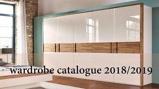 WARDROBE DESIGN CATALOUGE  2018/2019