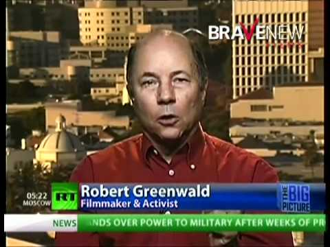 "Great Minds Interview with Robert Greenwald on Thom Hartmann's ""The Big Picture"" - February 14, 2011"