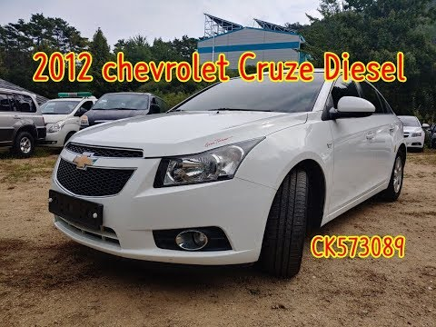 (20190929) 2012 Chevrolet Cruze Diesel Manual Inspection For Used Car Export (CK573089),carwara.com
