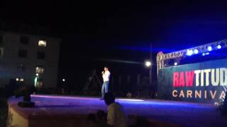romantic standup comedy and shayari  by Dev Kumar Mishra in college