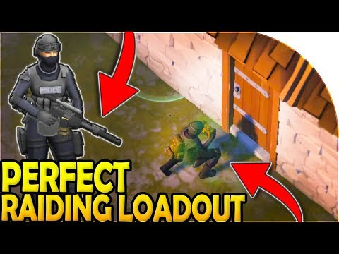 The *PERFECT* RAIDING LOADOUT - Last Day On Earth Survival Update 1.9