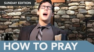 Learn How to Pray Using a Simple Acronym