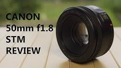 REVIEW - Canon 50mm f1.8 STM | DEUTSCH