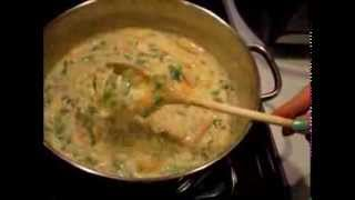 ::cooking W/ Gradys Mom:: Creamy Chicken Wild Rice Soup  (mmmmmm)