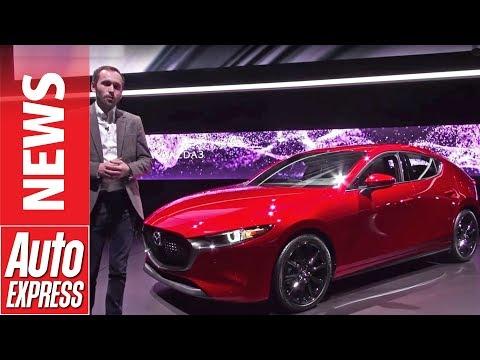 New Mazda 3 - stylish hatchback breaks cover at LA Motor Sho