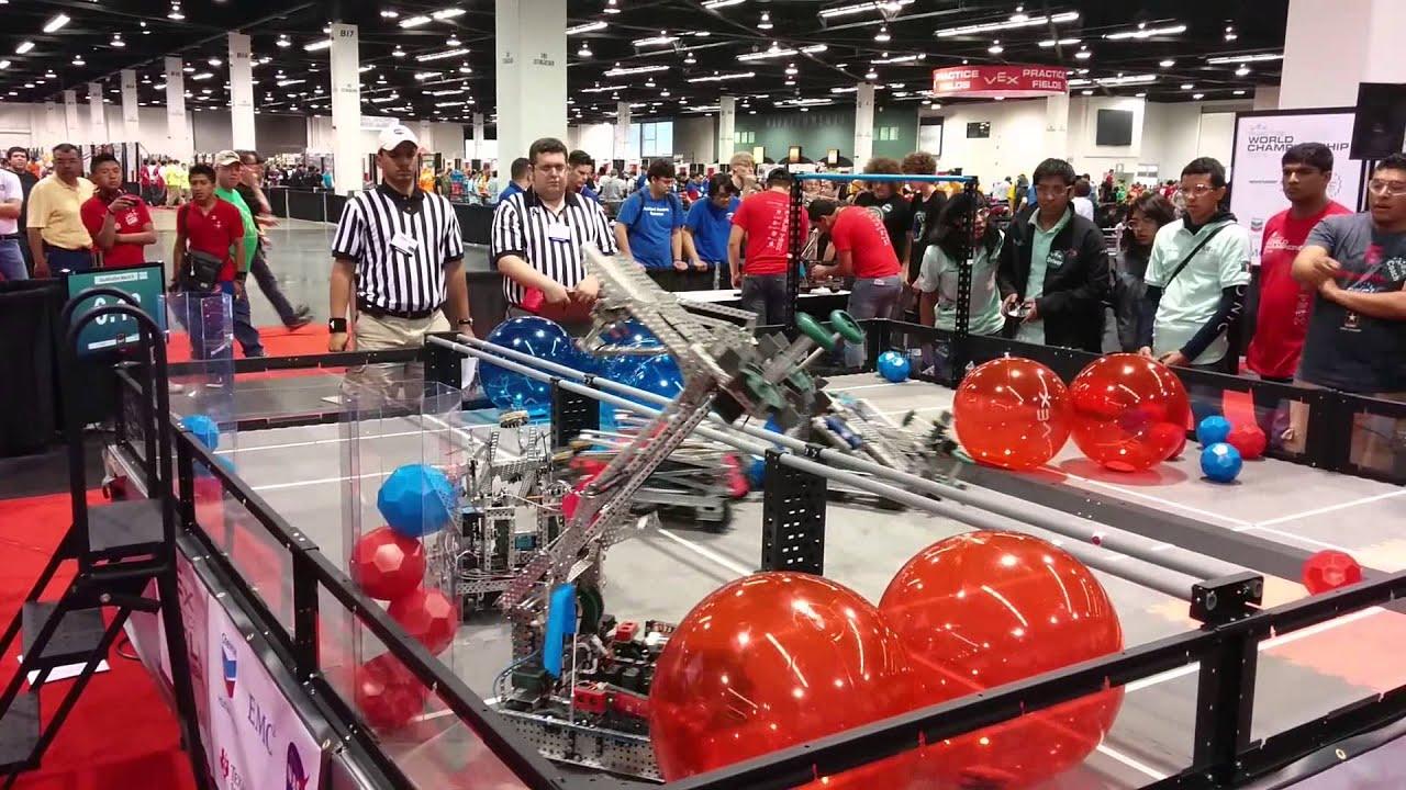 Vex Robotics World Championship 2014 - YouTube