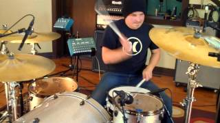 TravisDavisMusic - Linkin Park - Somewhere I Belong (Drum Cover)