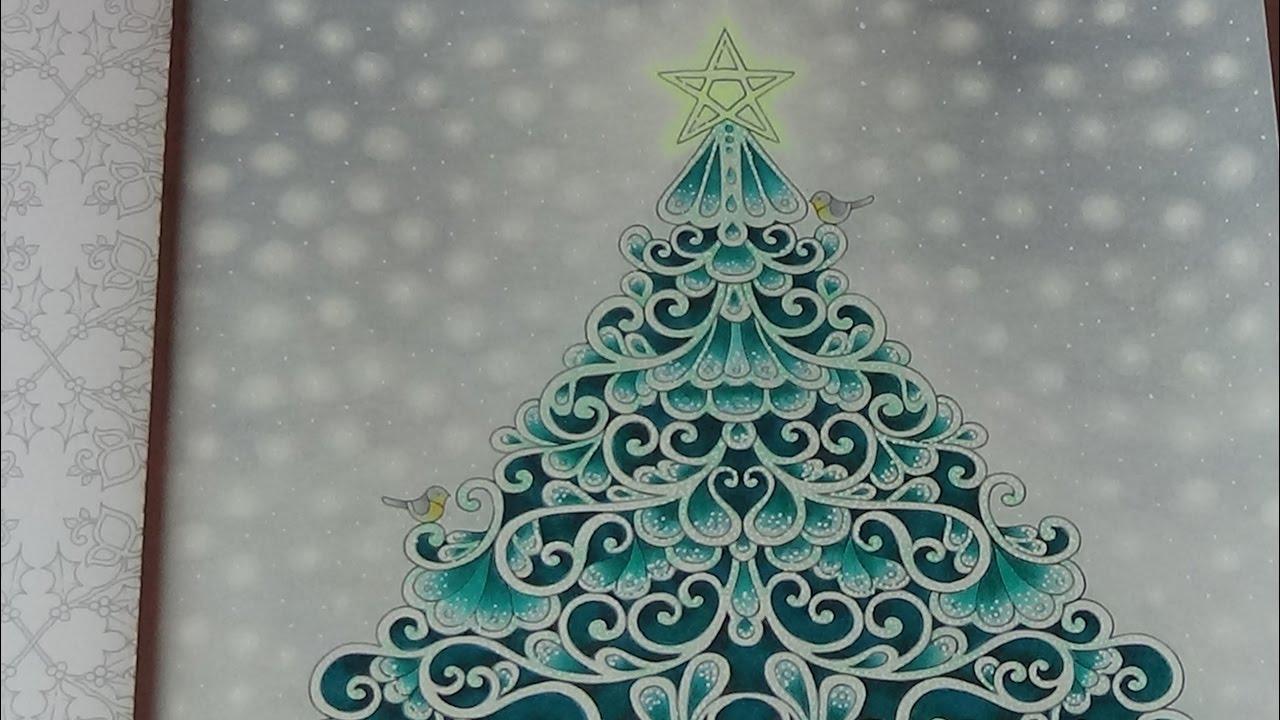 How I color a snow background Tutorial 2 Prismacolor Johanna´s ...