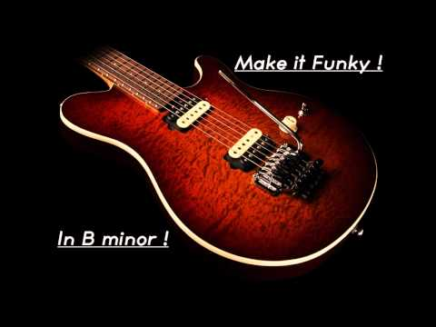 Backing Track 13 : Crazy Funk in B minor !