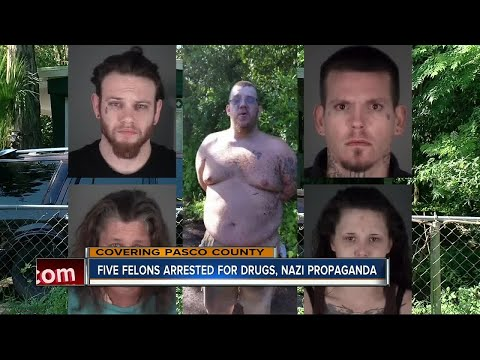 5 arrested after undercover operation unveils illegal activities, Nazi propaganda