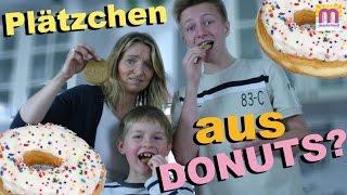 Plätzchen aus Donuts backen? marieland Experiment