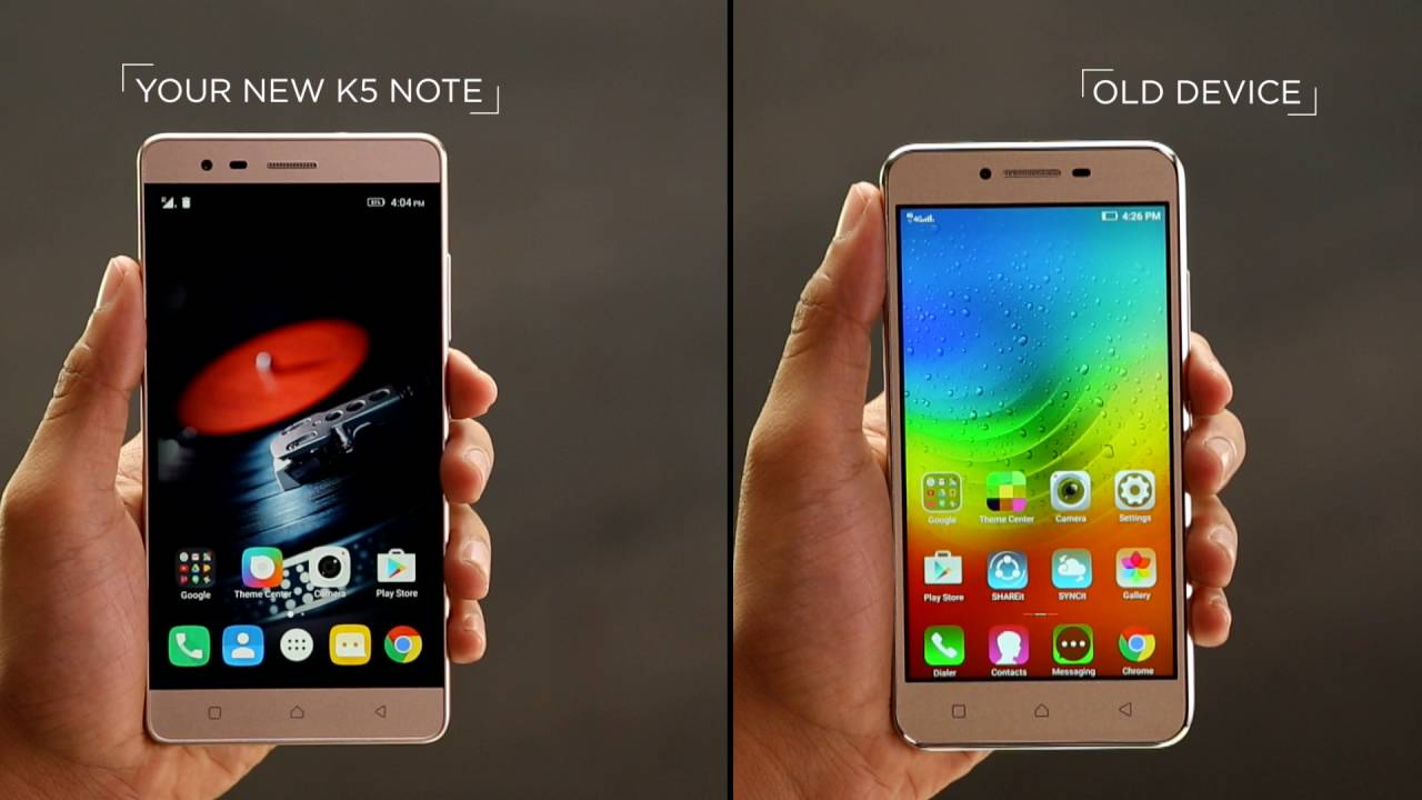 Lenovo Vibe K5 Note Setup Youtube