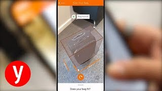 כך תמדדו את מזוודת הטרולי בפיצר החדש באפליקציה של איזי גט