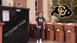 what living in a college dorm is REALLY like(cu dorm tour)