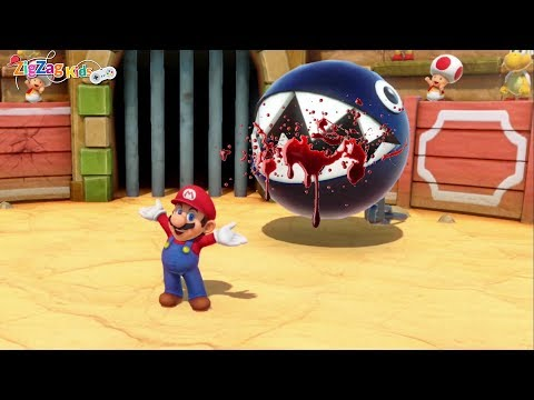 Super Mario Party   All 80 Minigames   Superb Fun Game For Kids and Toddlers   ZigZag Kids HD
