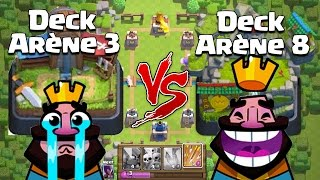 Clash royale deck explosifff pour monter ar ne legende for Deck arene 5 miroir