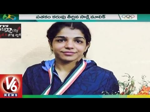Special Story On Indian Wrestler Sakshi Malik | Rio Olympics 2016 | V6 News