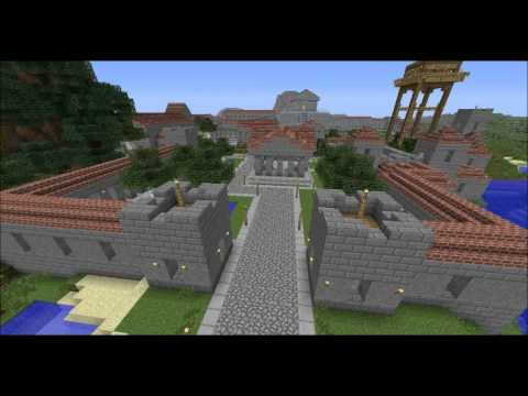 Greek Architecture Minecraft minecraft: a kingdom of myths - ancient greek city - youtube