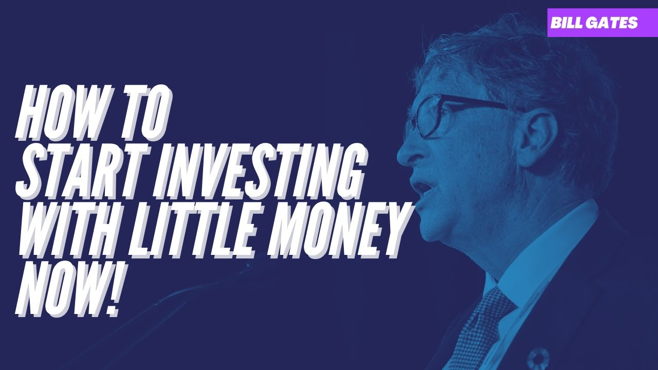 How to start investing with little money $1000 | smart money
