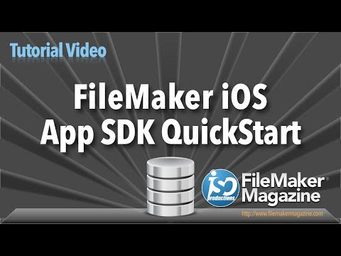 FileMaker iOS App SDK QuickStart