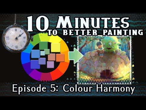 Colour Harmony - 10 Minutes To Better Painting - Episode 5