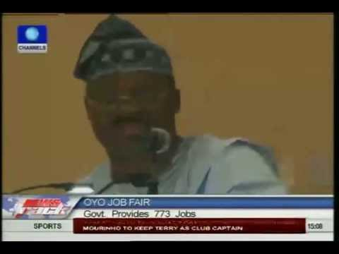 Oyo Govt provides 773 jobs,promises to create more come 2015