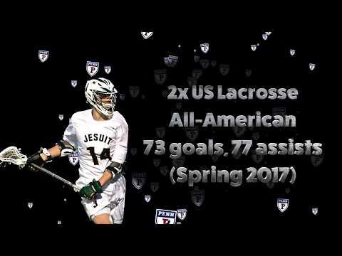 Sam Handley (UPenn) 2017 Lacrosse Highlights