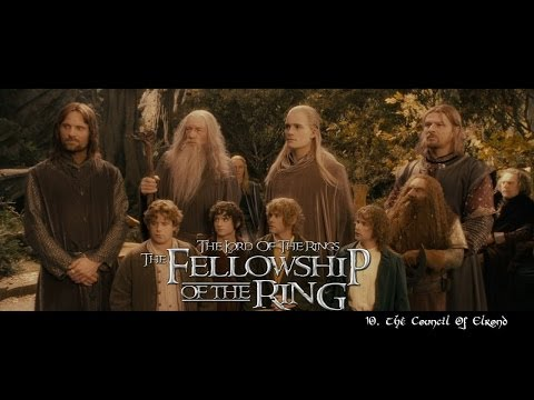 The Lord of the Rings - The Fellowship of the Ring (Soundtrack) HD Movie clips compilation