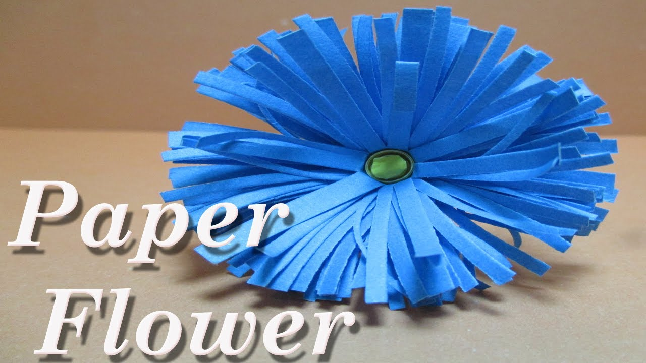 How To Make Paper Flowersdiy Paper Crafts Instructions Step By Step