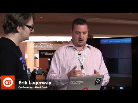 CrackBerry Live: Hookflash Brings Cross-platform Video Chat To BlackBerry 10