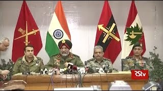 Pulwama Encounter : Joint press conference by Army, CRPF & J&K Police