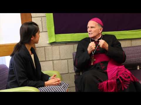 Interview with Bishop O'Connell at Stuart Country Day School