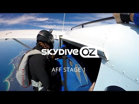 Learn To Skydive, AFF STAGE 1 Training At Skydive Oz,  Australia