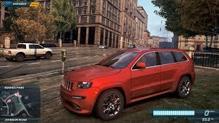 NFS Most Wanted 2012 Cut Content - Jeep Grand Cherokee SRT8