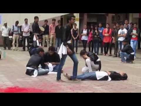 """Nukkad Natak """"Hame Kya"""" - Dramatics Club, IIT Indore"""