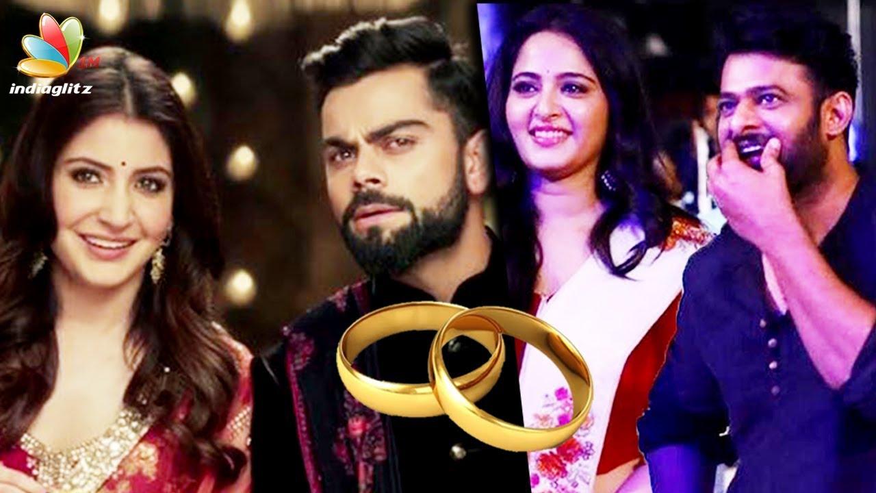 Virat Kohli Hka Sharma To Get Married In December Hot Tamil Cinema News Prabhas