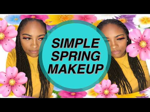 SIMPLE SPRING MAKEUP LOOK 2019 | Jada Simone thumbnail