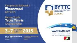 BYTTC Young Table Tennis Championship in Prishtina